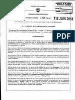 Decreto 1028 Convocatoria a Consulta