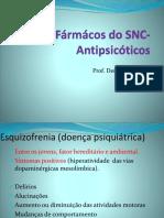 Aula 8-Fármácos Do SNC-Antipsicóticos