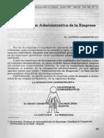 La Intregracion Administrativa de La Empresa Dr. Alfredo Sarmiento