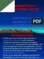 Capitulo i Fotogrametria Geodesia y Cartografia