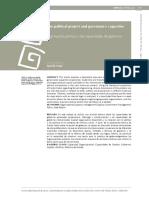 Lec. 15 El Proyecto Político y La Capacidad de Gobierno