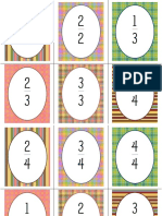fraction cards with fraction strips