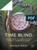 Time Blind - Kevin K. Birth