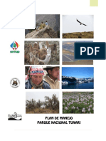 Plan de Manejo Parque Tunari