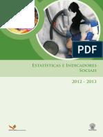 Estatisticas de Indicadores Sociais_2012-2013