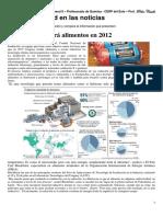 Ficha La Radiactividad en Las Noticias