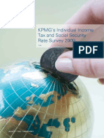 Individual Income Tax Rates Survey 2009