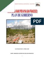 Plan de Gobierno Ayna