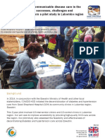 Decentralising non-communicable disease care in the Kingdom of Eswatini