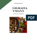 Nicolae Ilinca - Geografie umana.doc