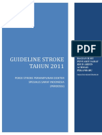 Guideline Stroke Perdossi 2011