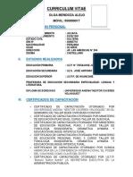 Curriculum Vitae 22222222