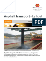Folder - Asphalt Transport - By Boat