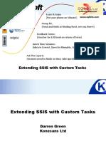 Extending SSIS With Custom Tasks - Darren Green