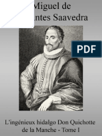 De Cervantes Saavedra Miguel L Ingénieux Hidalgo Don Quichotte de La Manche Tome I 2005