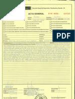 Acta Fiscalización