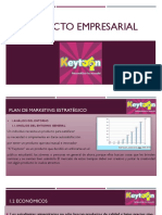Plan Estrategico de Marketing Keytoon