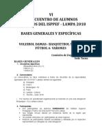 Bases-Vi Reencuentro de Alumnos Egresados de Lampa 2018