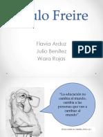 Paulo Freire Presentación