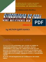 SUPERVISOR de obra- Id 2018.ppt