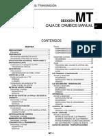 Manual de Diagnostico de La Caja Mecanica