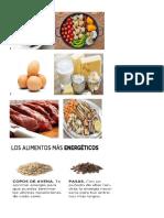 Alimentos y Sus Nutricion
