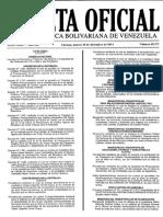 Gaceta oficial Nº 40.571 30-12-2014