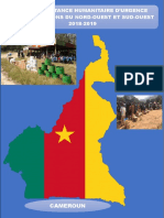 Plan Gouvernemental d'Assistance Humanitaire d'Urgence Dans Les Regions Du Nord-ouest Et Sud-ouest 2018-2019 Copie Final...