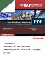 Unidad II_Sem 9 y 10_Método Lean Construction II