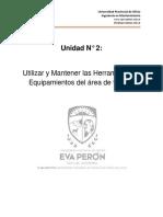 Unidad 2 - Utilizar Herramientas