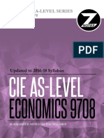 Cie as Economics 9708 Znotes