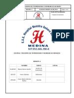 Adm-Al-04 Control y Registro de Temperatura y Humedad en Farmacia