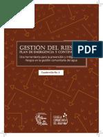 Cuadernillo Nº6 Gestión Del Riesgo Plan de Emergencia y Contingencia