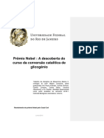 A Descoberta Do Curso Da Conversão Catalítica de Glicogênio
