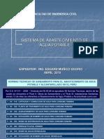 1. Abastecim. de Agua y Alcantarillado - Usmp