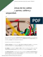 Características de Los Cables Eléctricos_ Partes, Calibre y Ampacidad. - FARADAYOS