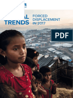 UNHCR report on forced displacement