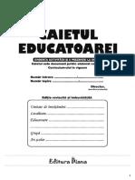 CAIETUL EDUCATOAREI