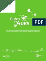 Guia de Observação de Aves em Areas Naturais Protegidas