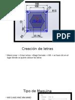 Ejercicio CAD CAM Operaciones en Mastercam x5