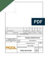 3.POOL-PO-At-003 REV. 0 Prueba Hidrostatica