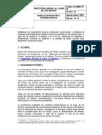 procedimientos entomologia forense