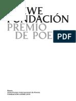 Bases Xxxi Premio de Poesia