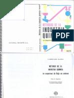 Métodos de La Industria Química Tejedor