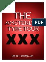 Amsterdam Type Tour Booklet