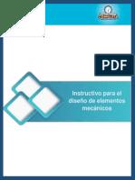 Ept-Instructivo Para El Diseño de Elementos Mecánicos