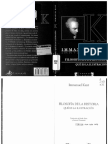 Kant Filosofia de La Historia Que Es Ilustracion