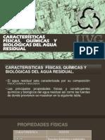 Caracteristicas Del Agua Residual