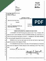 Dozier Execution Warrant