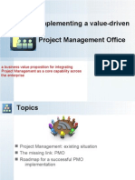 Implementing a Project Management Office - PMO